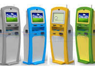 All In One Card Dispenser Self Checkout Kiosk IR / SAW / Capacitive Touch Screen