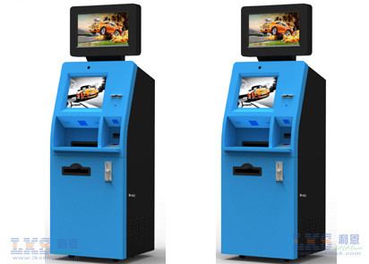 ATM Machine / Dual Screen Kiosk With UTP Thermal Printer Cash Dispenser