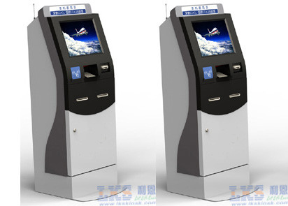 Multi - Functional Healthcare Kiosk Automatic Payment With 58mm Kiosk Thermal Printer